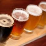 Red Oak Pub Flight of Beers