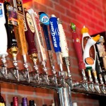 Red Oak Pub Beer Taps