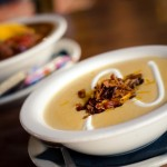 Red Oak Pub's Cheddar Ale Soup