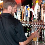 Beer Taps at Red Oak Pub