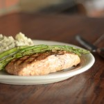 Red Oak Pub's Pub Salmon