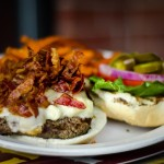 Red Oak Pub's Shroomin Burger