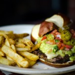 Red Oak Pub's Si Senor Burger