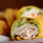 Red Oak Pub Turkey Bacon Wrap